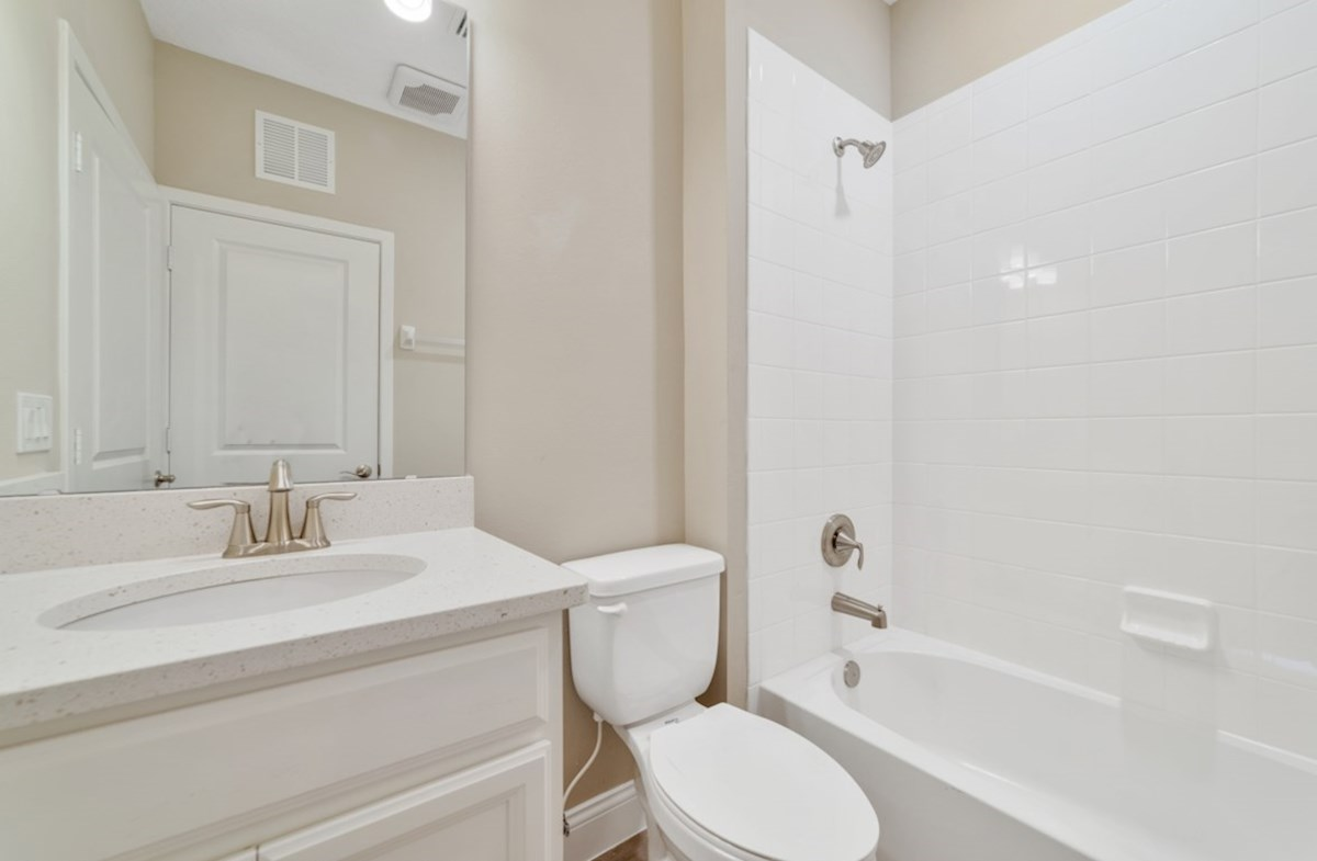 Chestnut quick move-in secondary bathroom