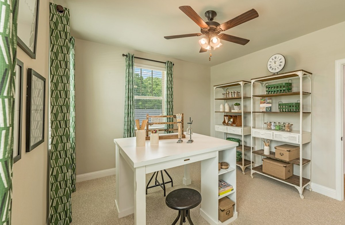 Gatherings® at Indian Lake Wiltshire crafty bedroom