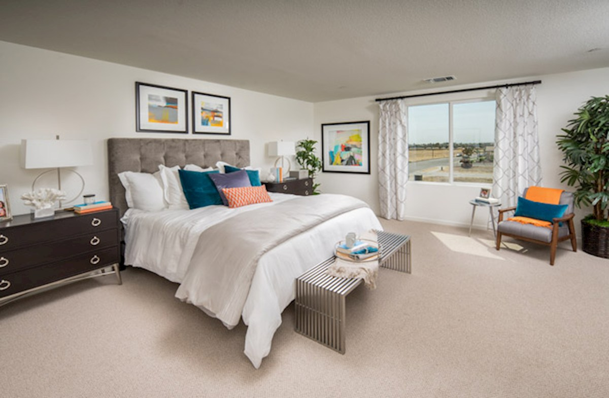 Natomas Field Residence 1 spacious master bedroom