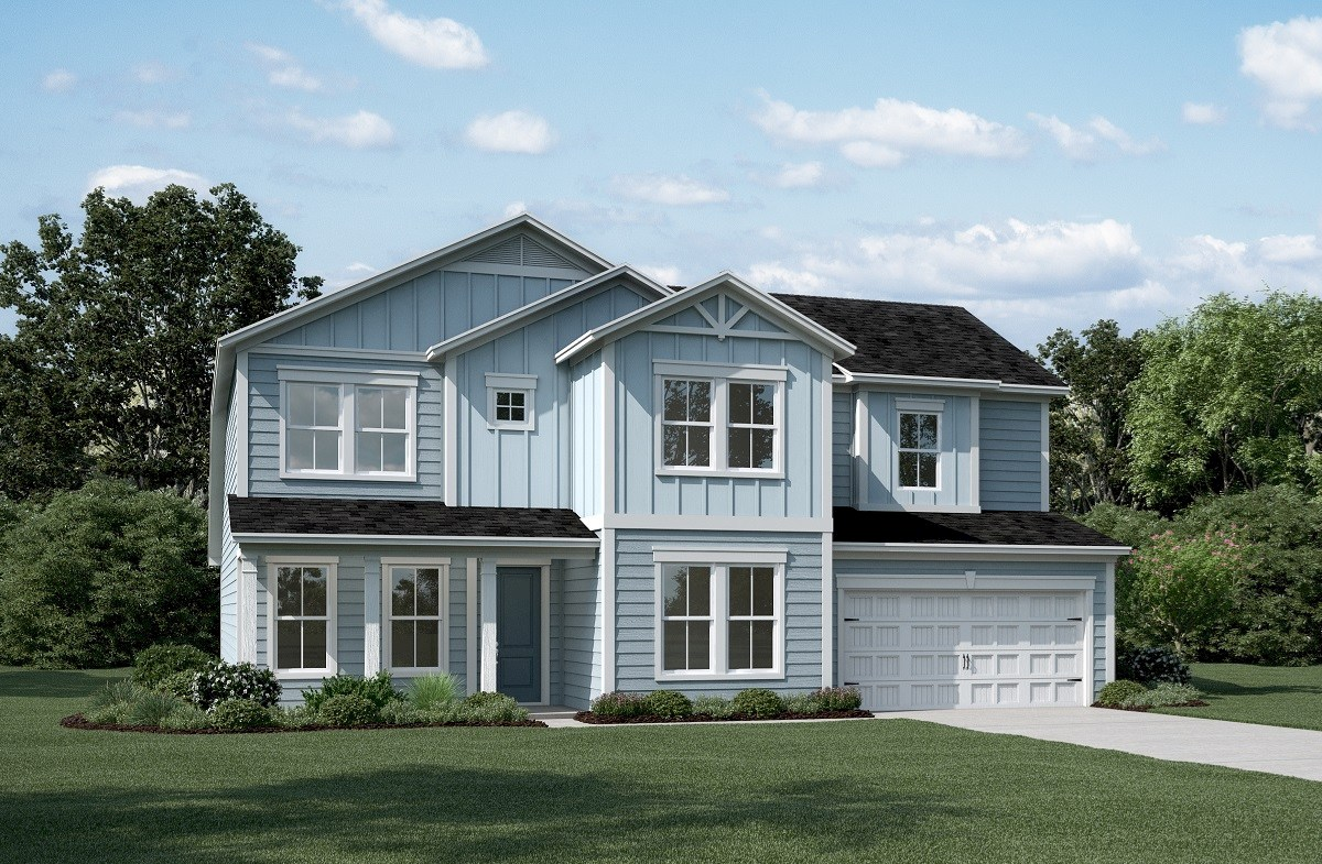 Tyler Home Plan in Jasmine Point at Lakes of Cane Bay, Summerville ...