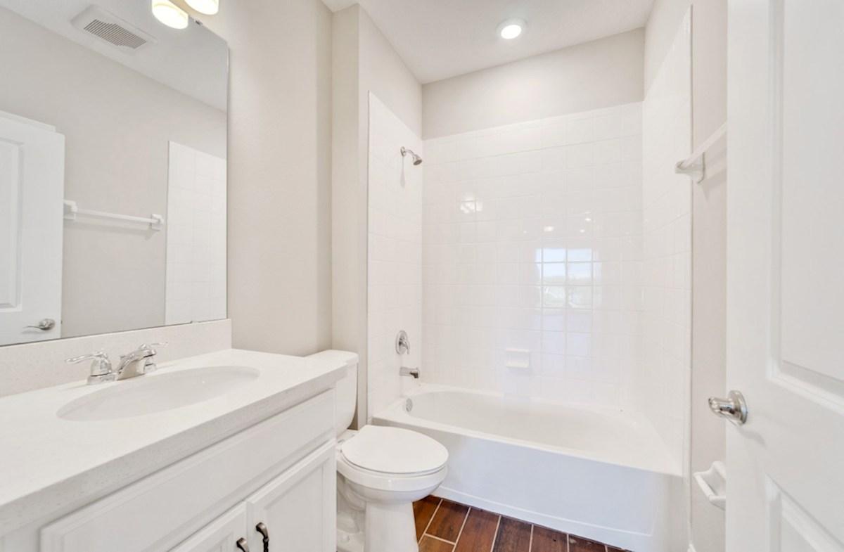 Chestnut quick move-in secondary bathroom