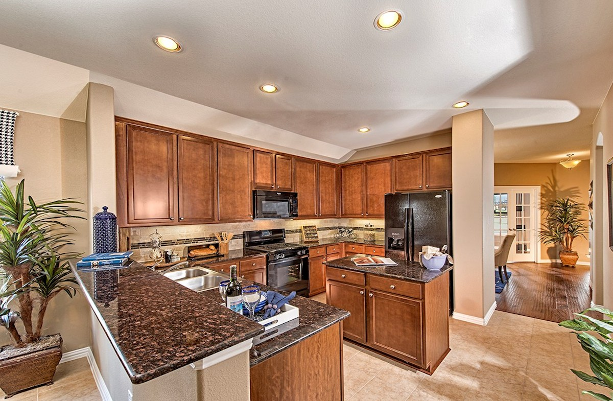 Millbrook Quick Move In Dark Kitchen Cabinets