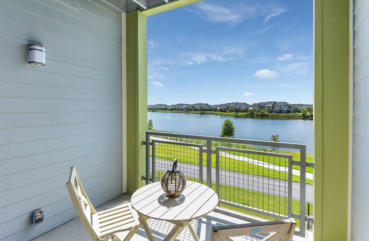 Gatherings® of Lake Nona Chestnut balcony