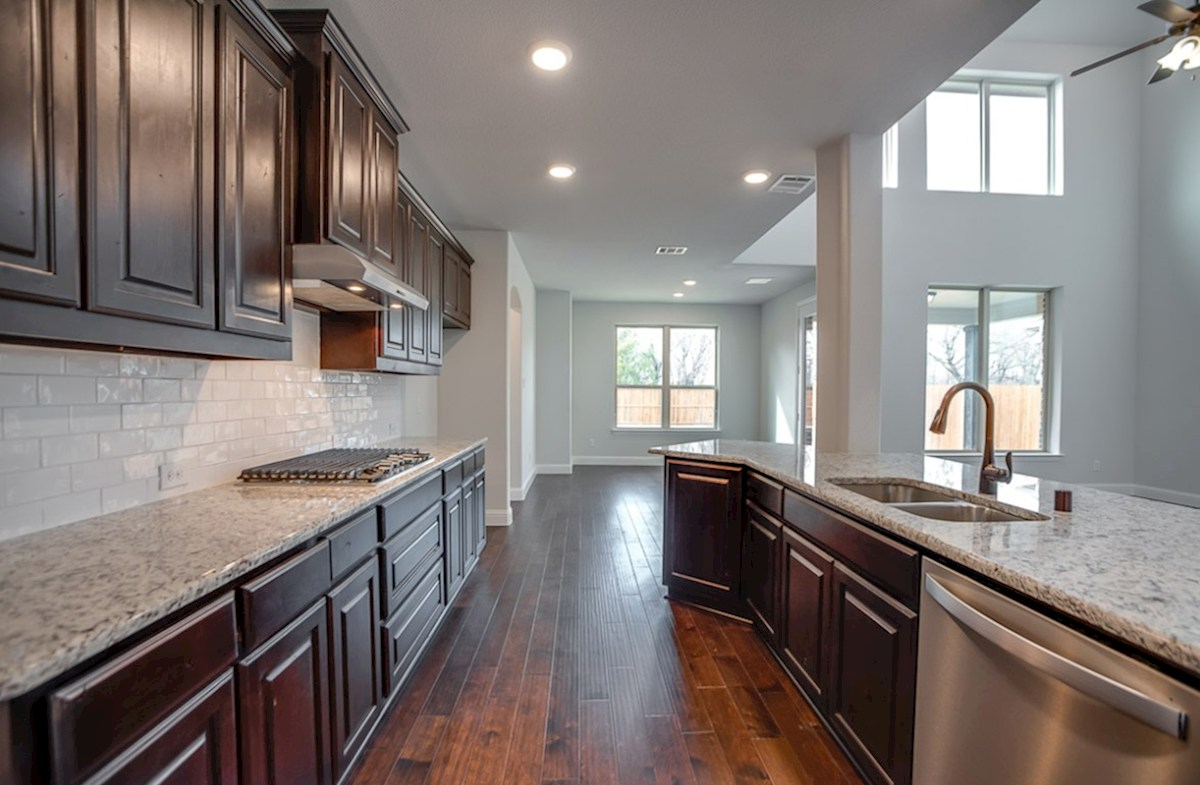 Brookhaven quick move-in elegant kitchen cabinets