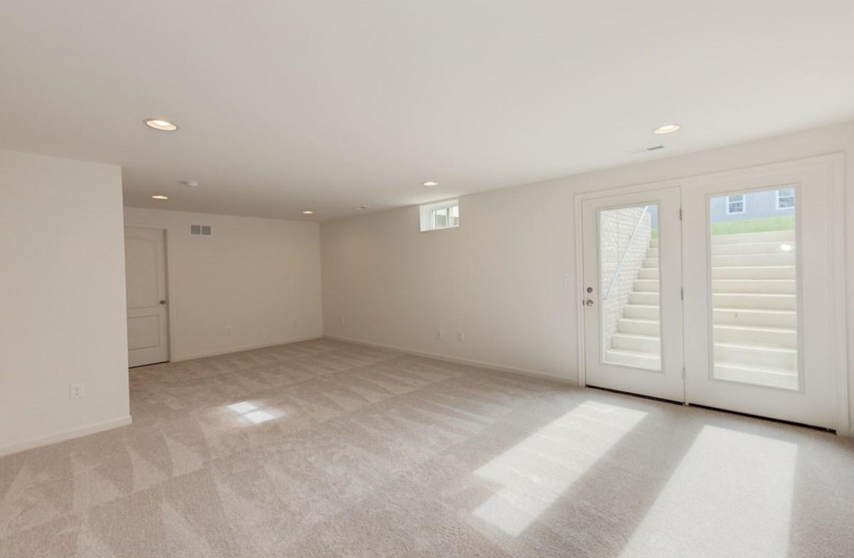 Harrison quick move-in walkup basement