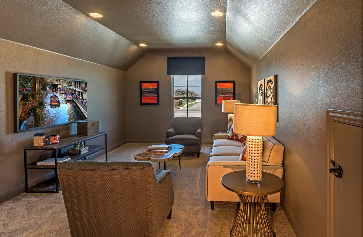 Lakes of Prosper Brookhaven Brookhaven your large media room