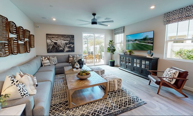 virtual tour of two-story home in Valley Center