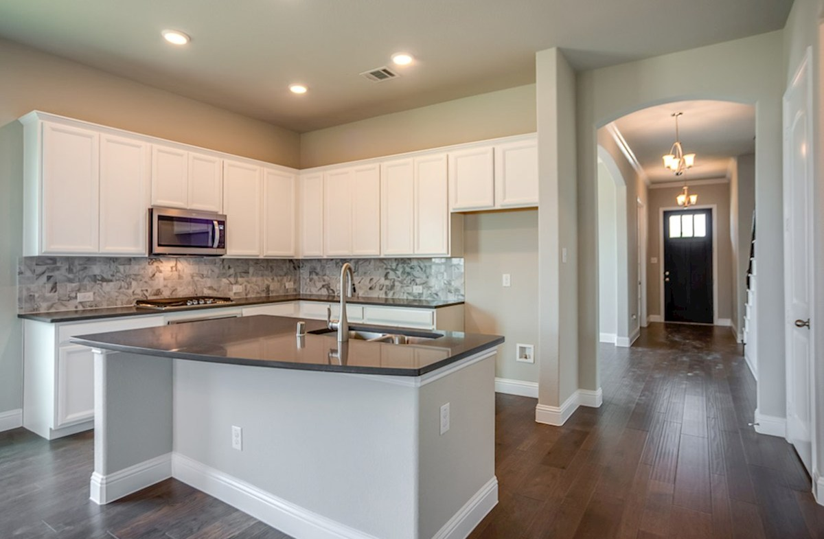 Ainsley quick move-in kitchen boasts granite countertops