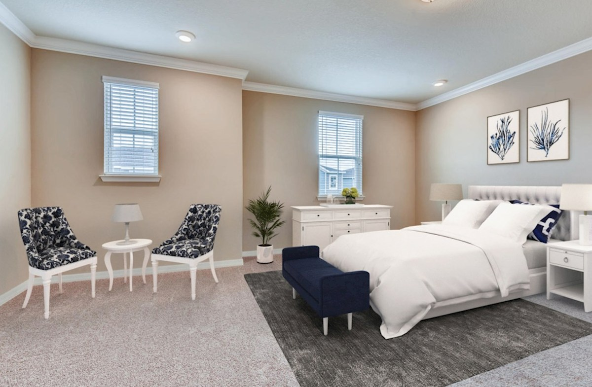 Kemerton Place Key Biscayne blissful master bedroom