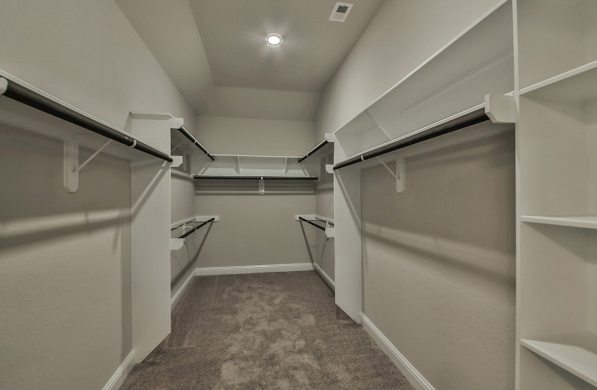 Caldwell quick move-in Caldwell Master Bedroom Closet