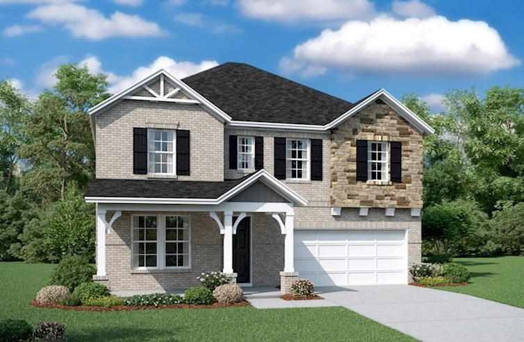 Landon Elevation French Country L