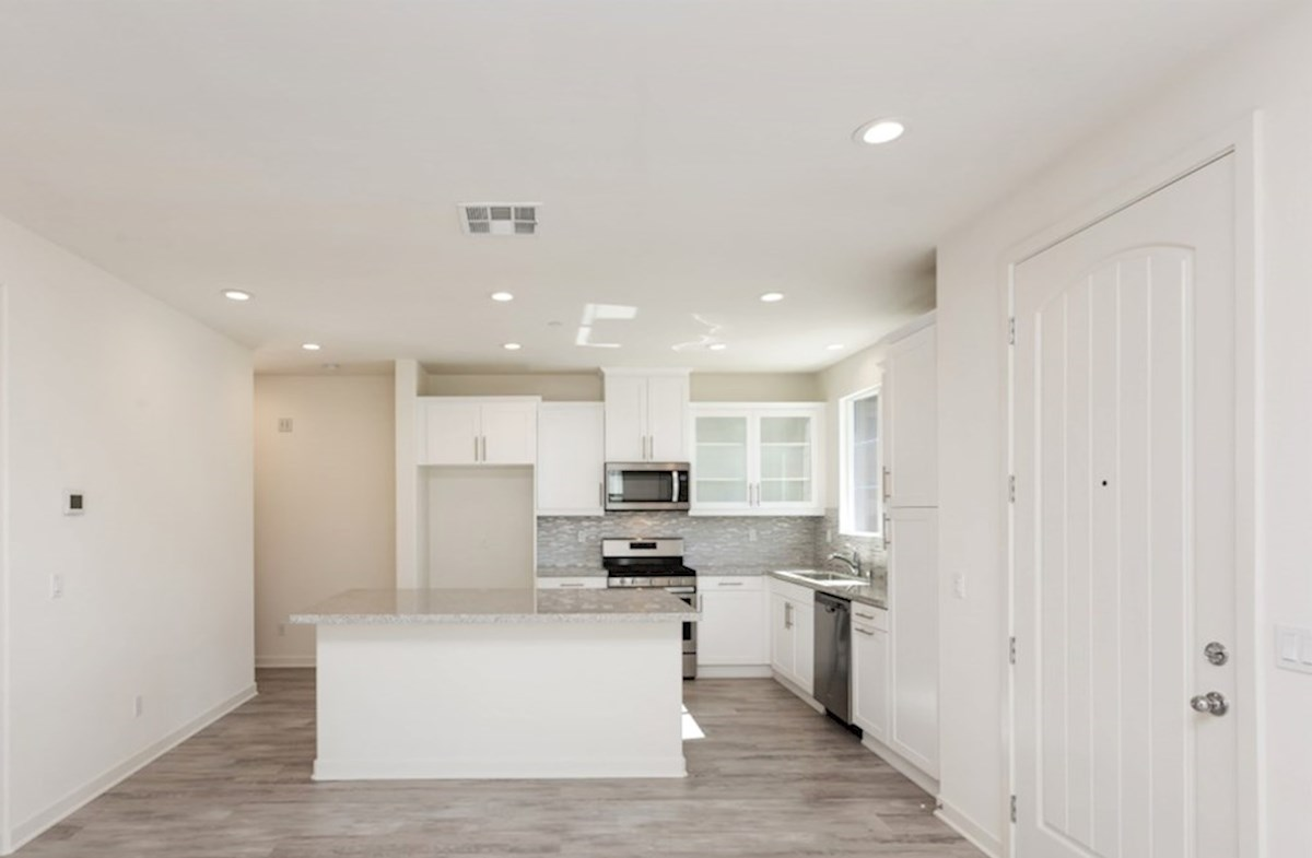 Primrose quick move-in Enjoy casual dining in open-concept kitchen