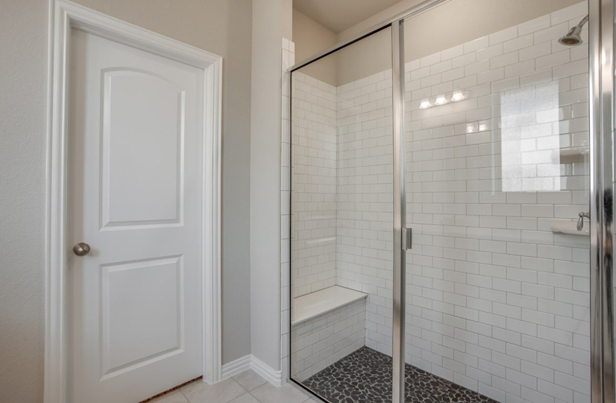 Avalon quick move-in Avalon master bathroom with large walk-in shower