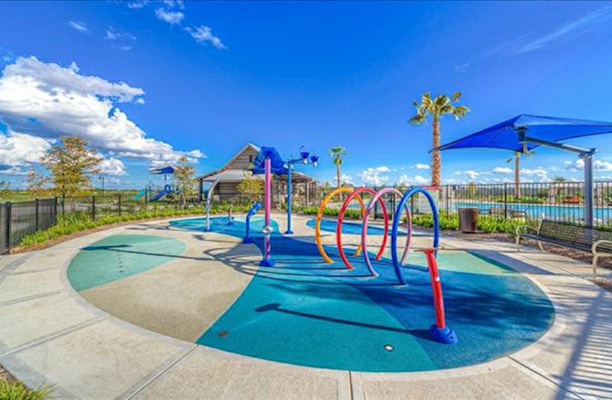 refreshing community splash pad