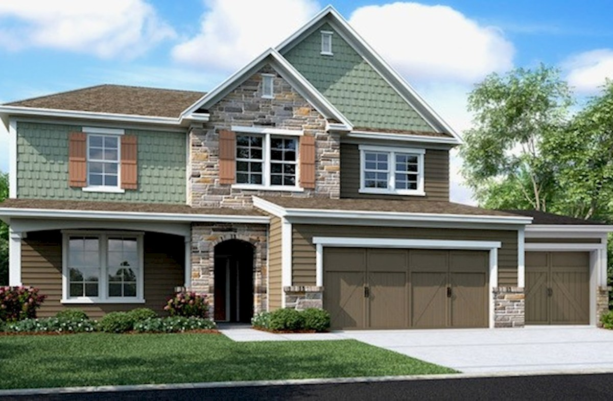 Morgan Elevation French Country  quick move-in