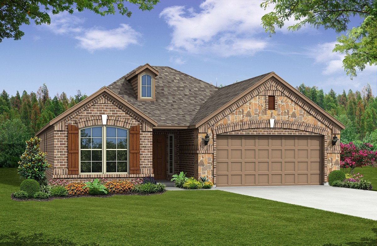 Baxter Elevation French Country L