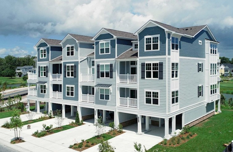 Fenwick Elevation Coastal L