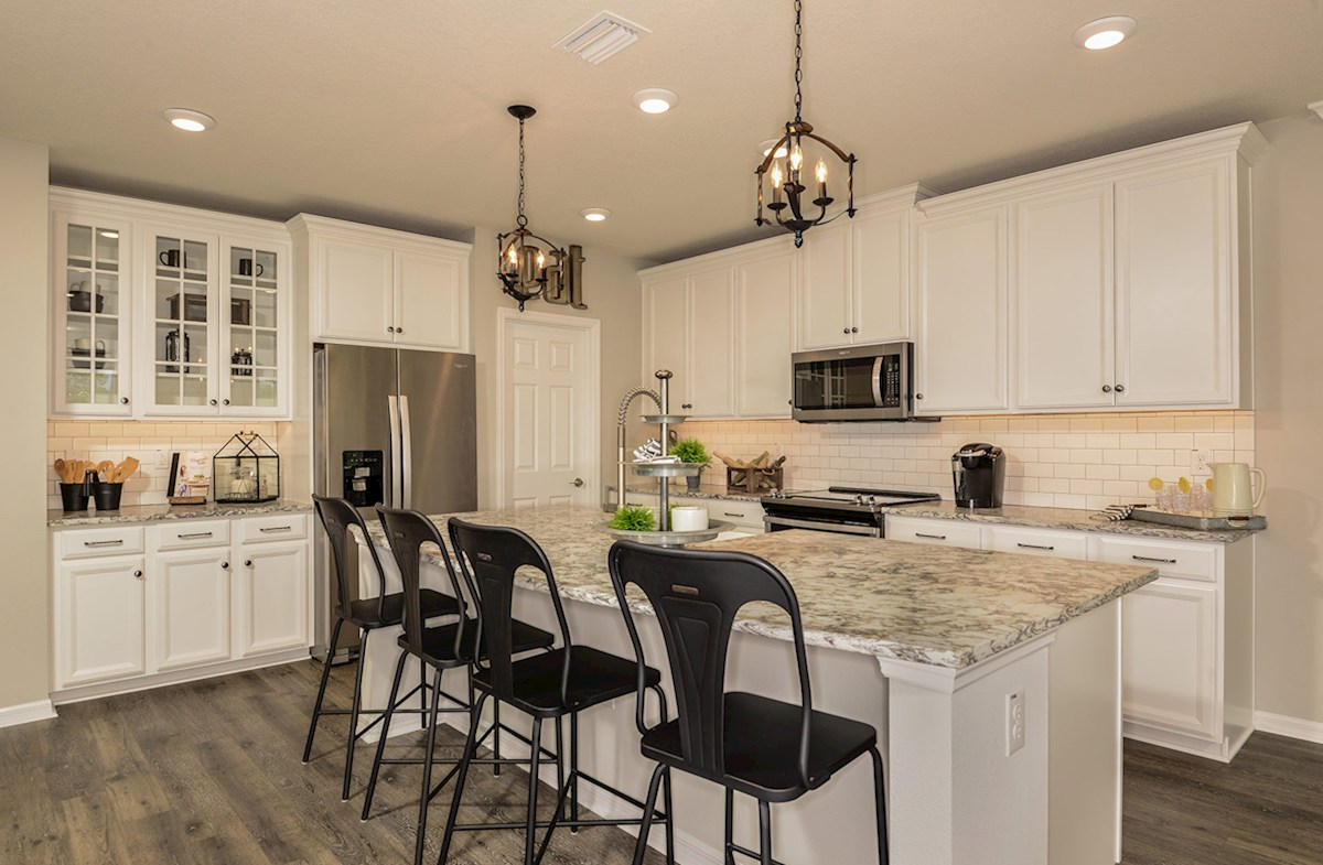 Kitchen featuring center island