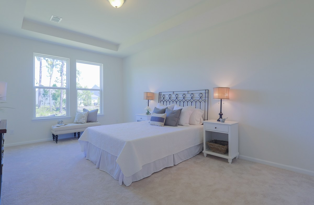 The Oaks at Cane Bay Turner peaceful master bedroom