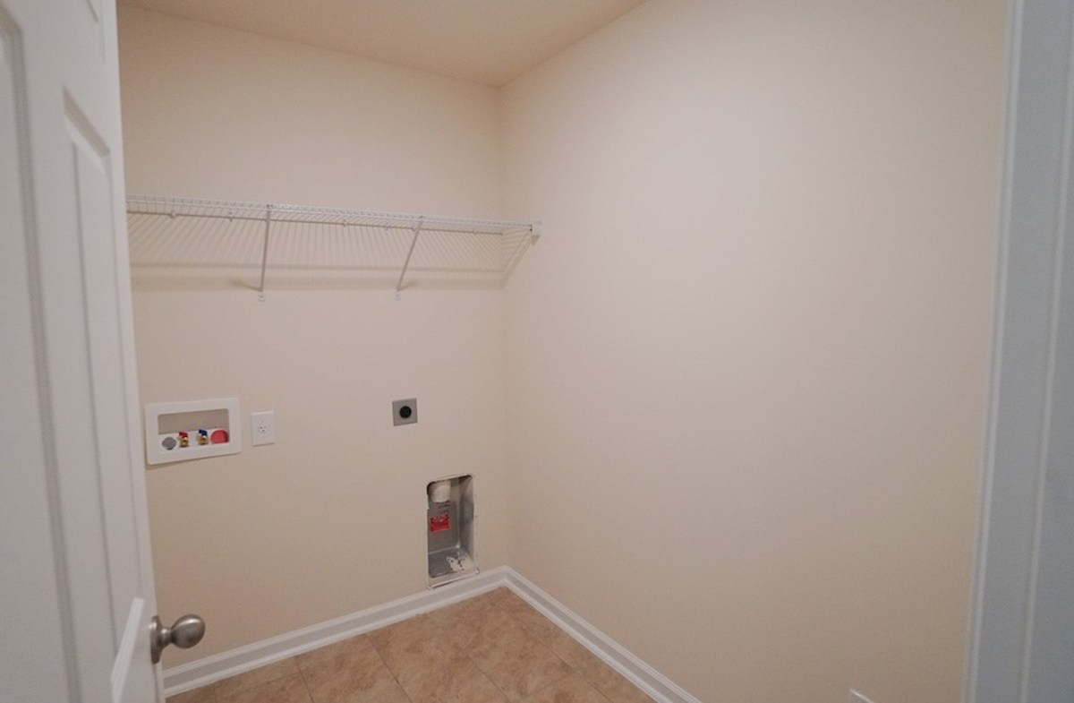 Summerton quick move-in spacious laundry room