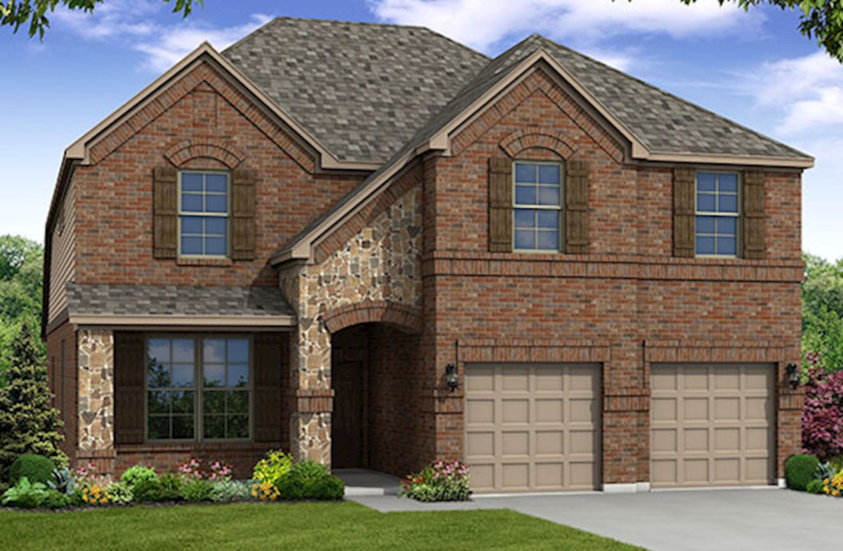 Blackburn home plan in paloma creek south little elm tx for Blackburn home