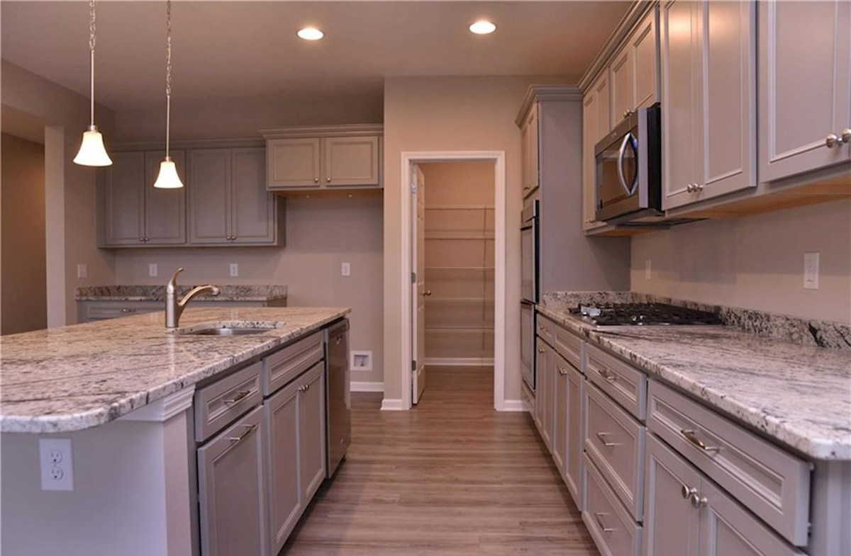 Shelby quick move-in Ample cabinet space and walk-in pantry