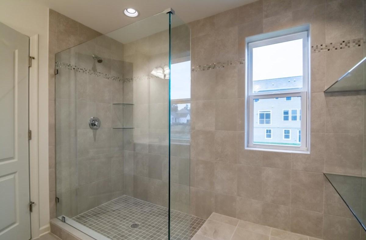 Harrison quick move-in walk-in shower