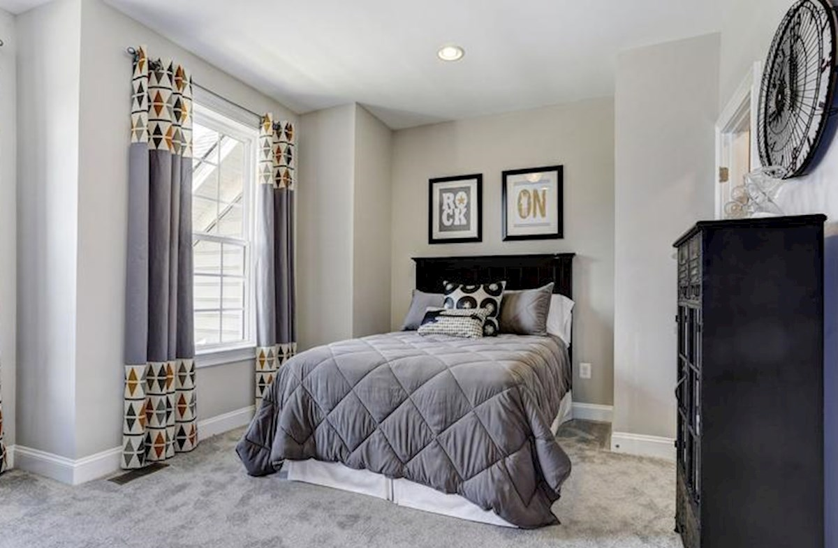 Wincopia Farms Brookview Secondary bedroom with room to grow