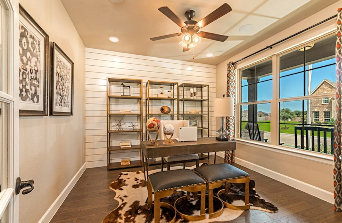 Hickory Creek Crossing Laredo private study with French doors