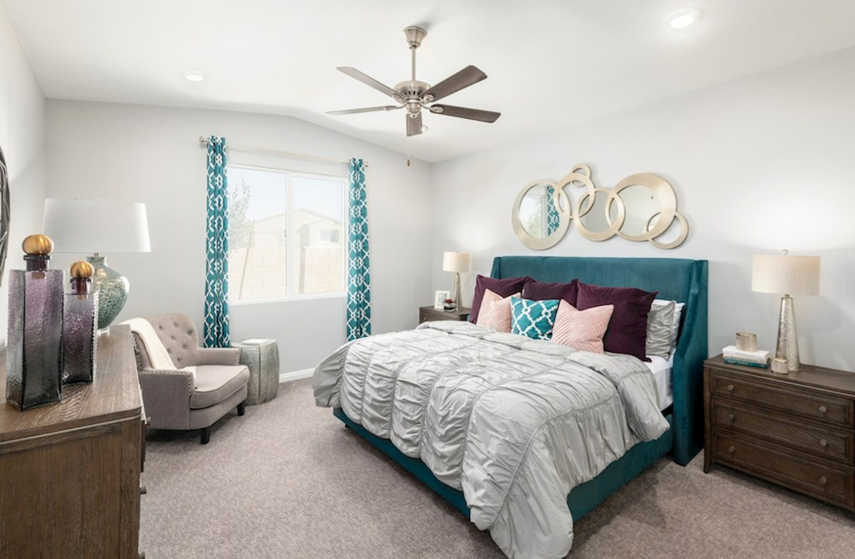Colton Ranch Summit airy master suite in Summit model