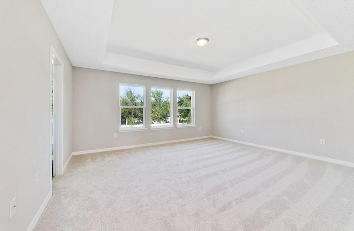 Reserve at Sawgrass Walden blissful master bedroom