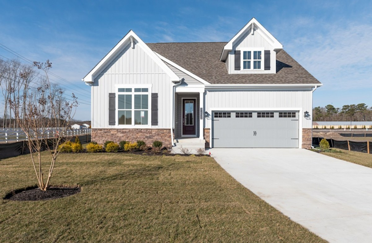 Darley Elevation French Country quick move-in