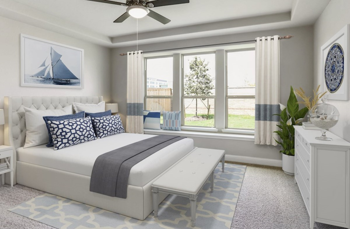 Cameron quick move-in master bedroom with window seat
