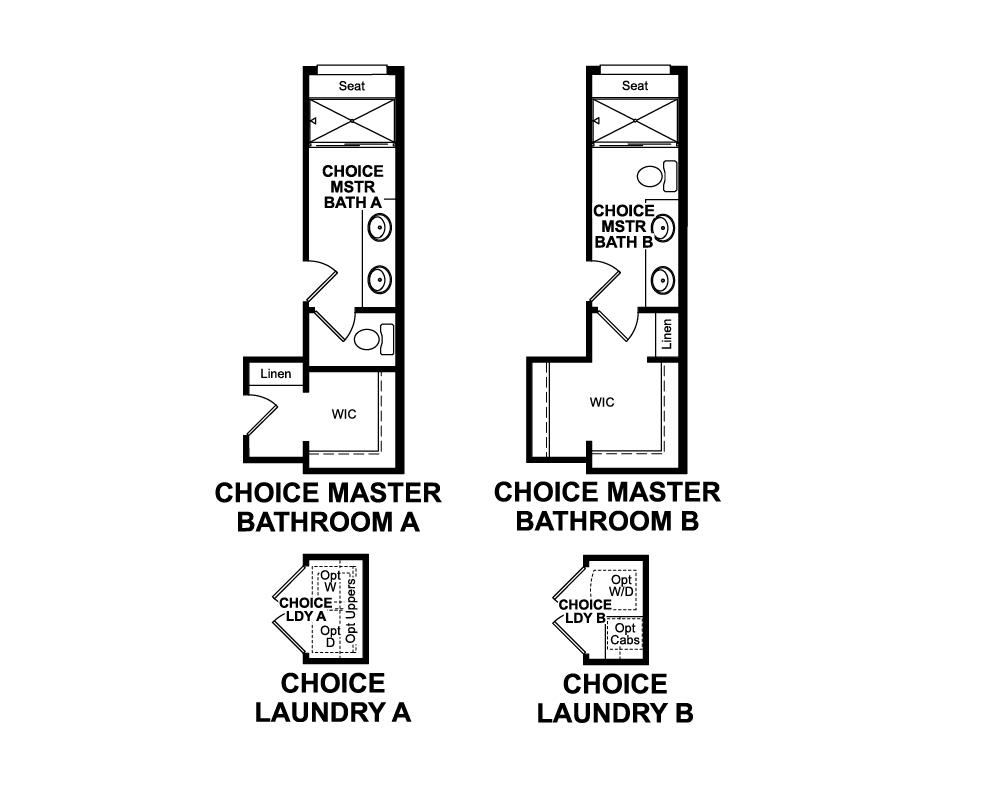 Choice options for 3rd Floor