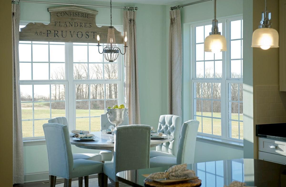 The Preserve at Windlass Run - Single Family Homes Pembrooke multiuse sunroom space