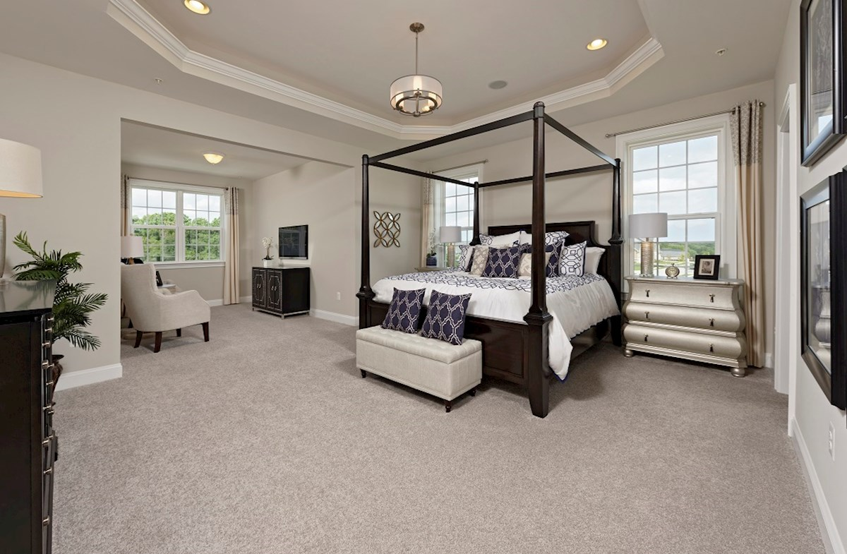 Enclave at River Hill Brookview Spacious master suite