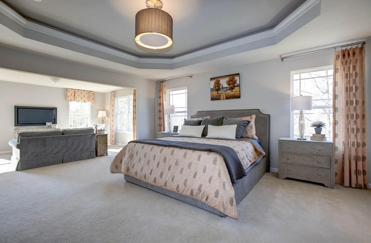 Summerfield Jefferson large master bedroom