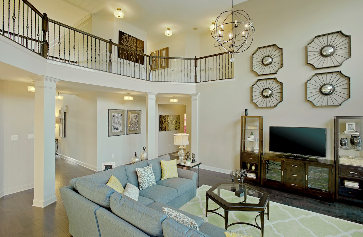 Enclave at Westmount Federalsburg Two-story family room