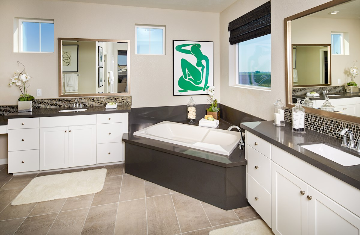 Spa-inspired Trinity master bath