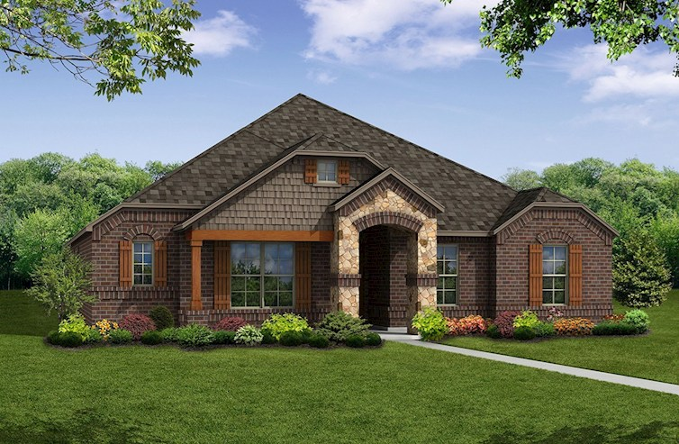 Blakely Elevation French Country M
