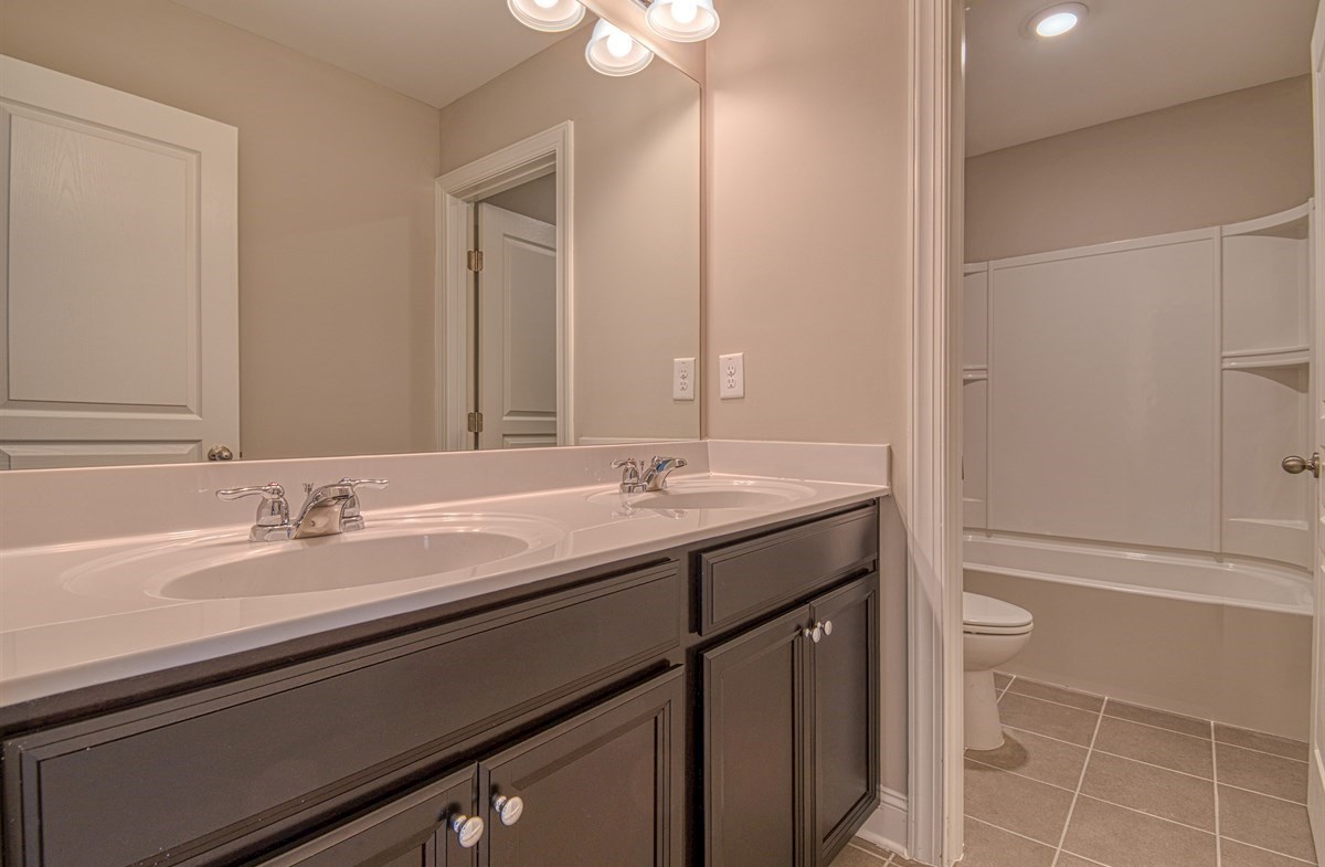 Chandler quick move-in Secondary Bathroom with dual sinks