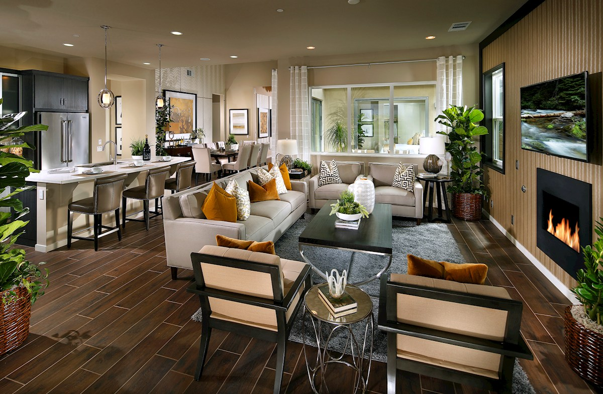 Vermillion at Escena Residence 4 Stunning great room enhances togetherness