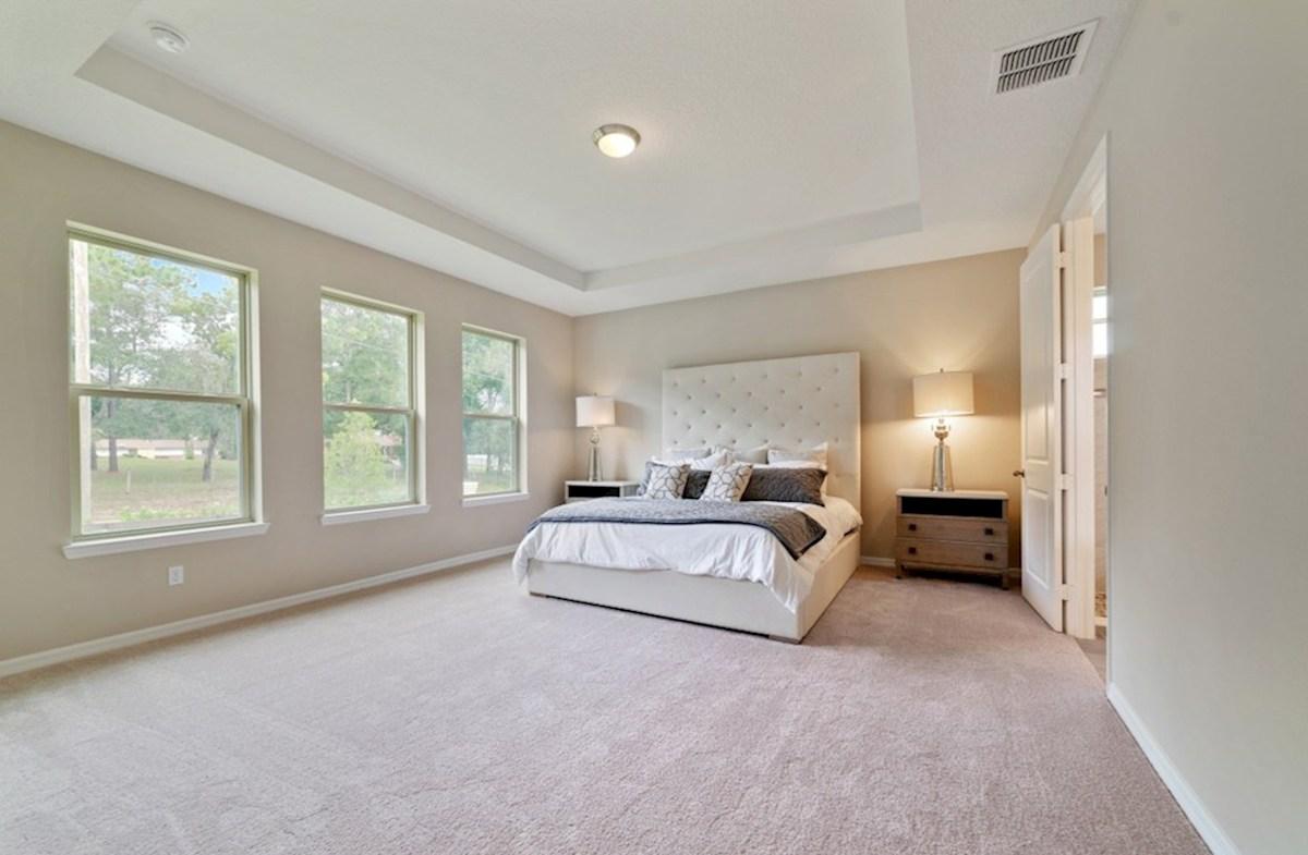 Macarthur II quick move-in relaxing master bedroom