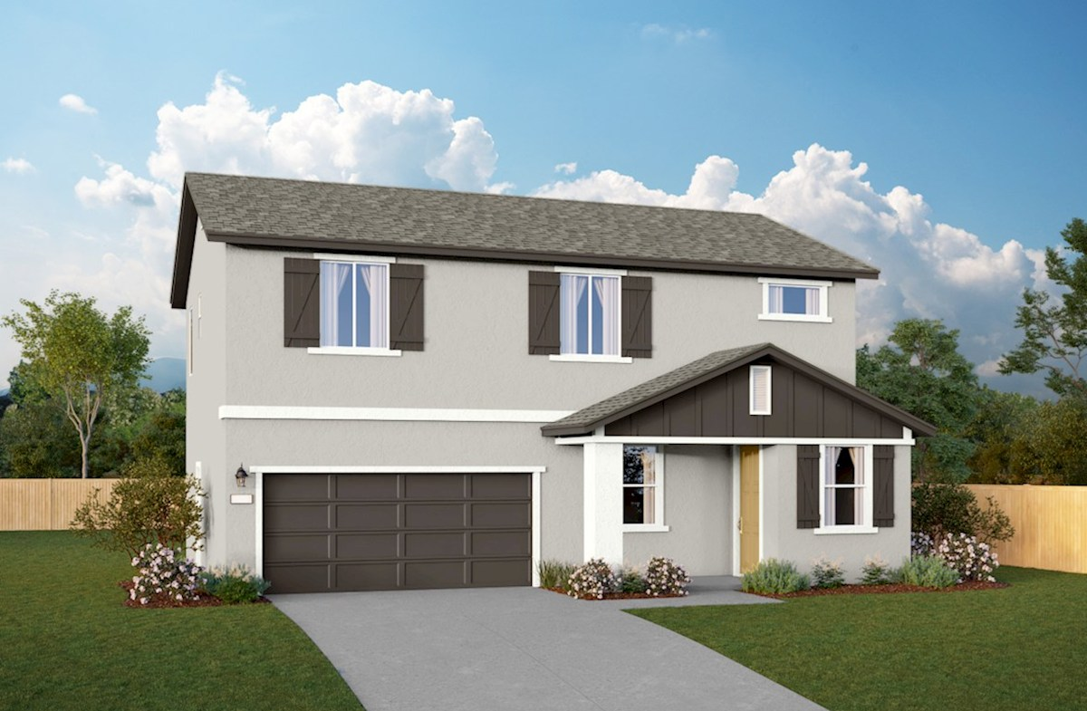Residence 1 Home Plan In Sequoia Trails Visalia Ca