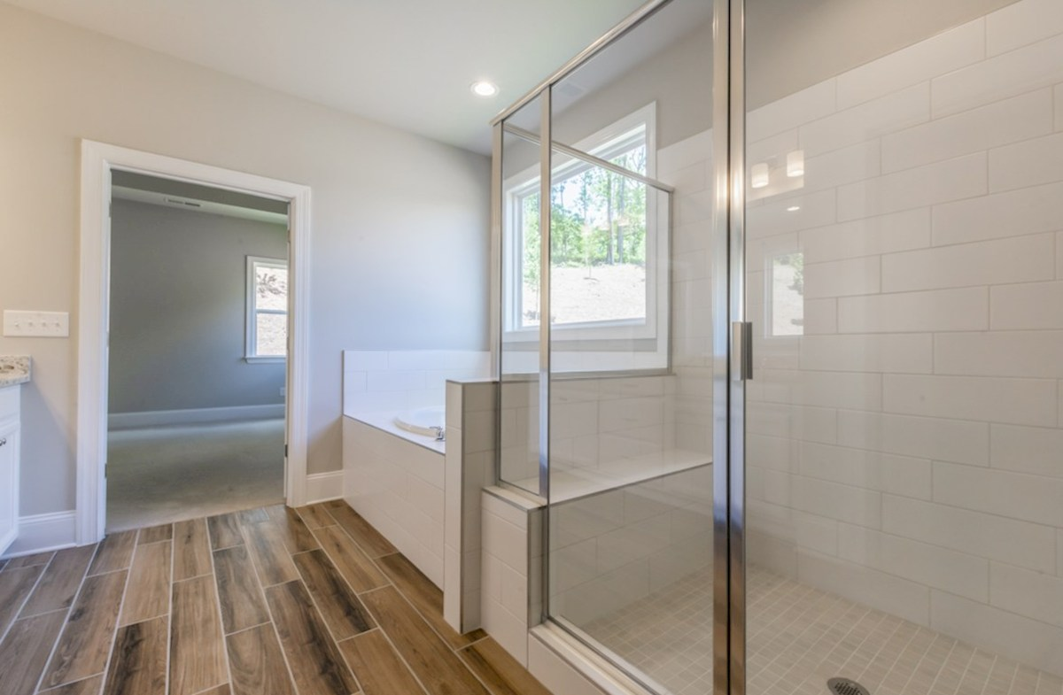 Fairfield quick move-in Master Bathroom with soaker tub