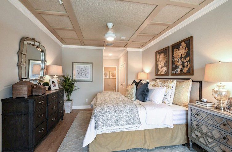 Gatherings® of Lake Nona Bradford blissful master bedroom