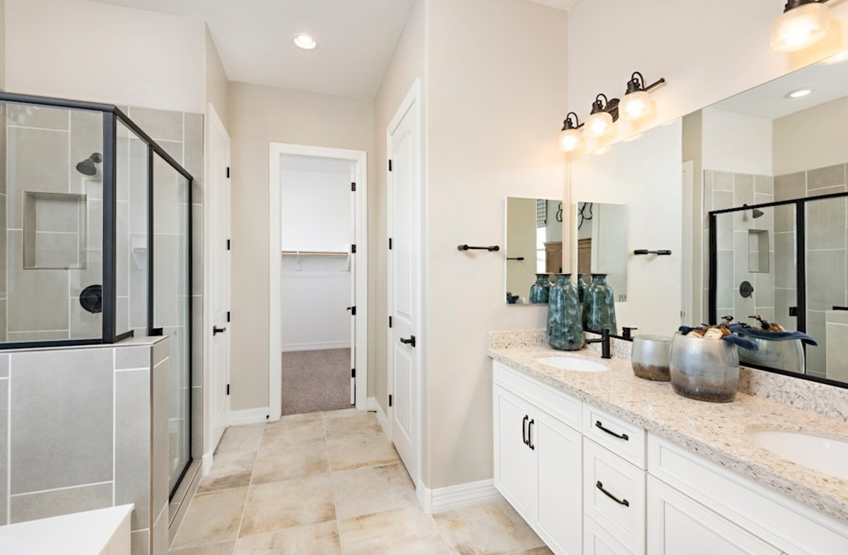 Estrella McDowell McDowell Model Master Bathroom