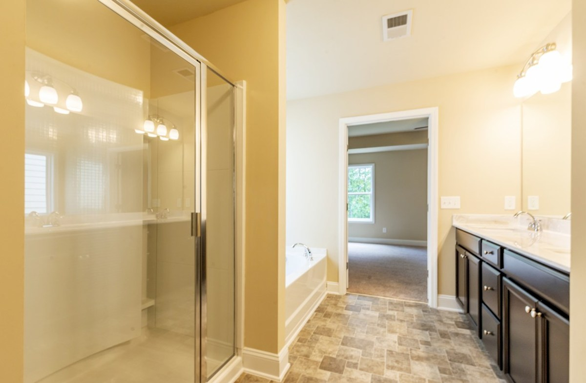 Milford Point Duval Master Bathroom with stall shower