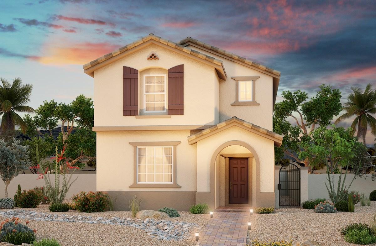 Las Vegas, NV new homes at Ravenna at Skye Canyon