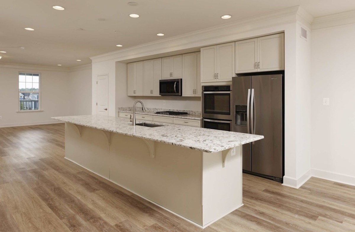 Fenwick quick move-in Kitchen featuring stainless steel appliances
